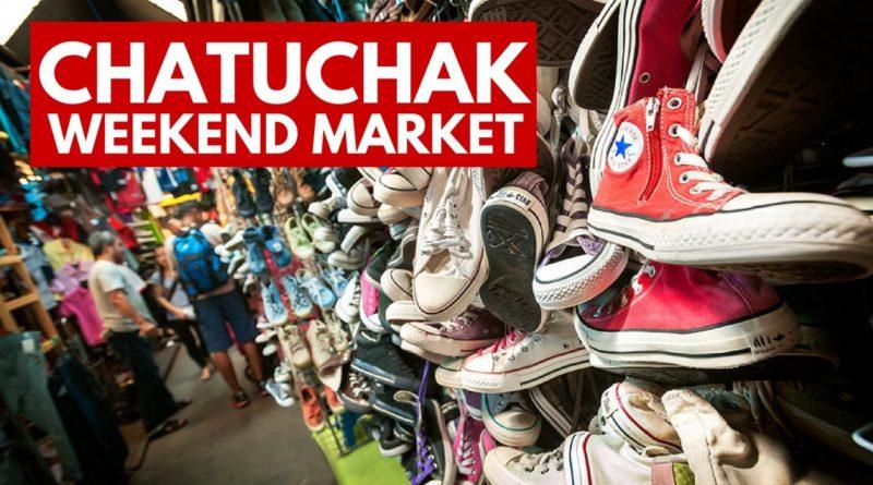 Chatuchak Week End Market di Bangkok