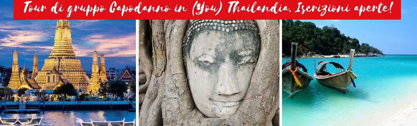 Capodanno viaggio mare Thailandia