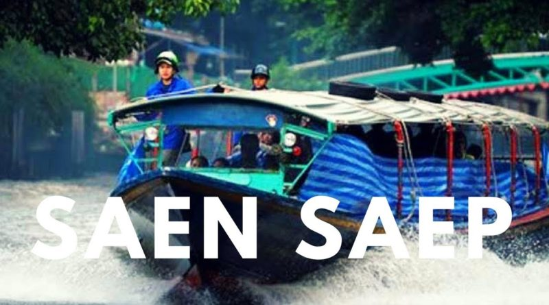 Il canale Saen Saep di Bangkok