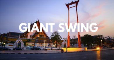 L'altalena gigante di Bangkok