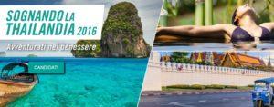 contest viaggio Sognando la Thailandia 2016