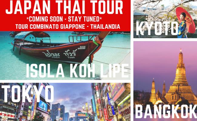 viaggio gruppo Giappone Thailandia