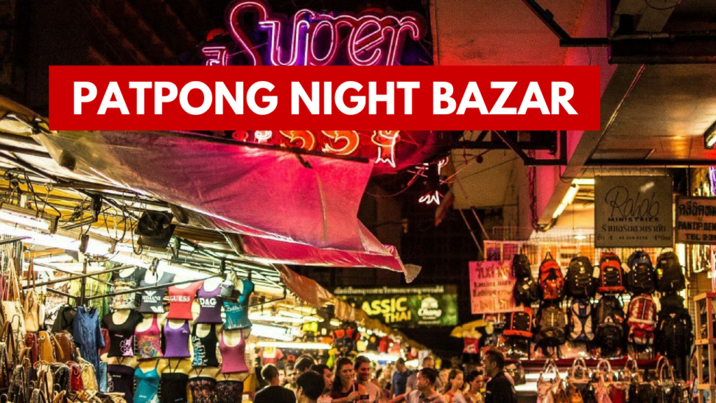 Bangkok mercati notturni