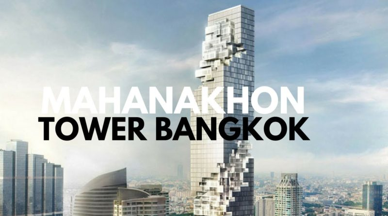 panorama Bangkok grattacieli
