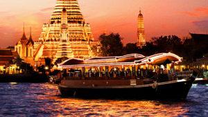 Chao Phraya Bangkok crociera
