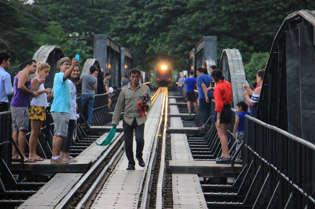 visita al ponte fiume Kway