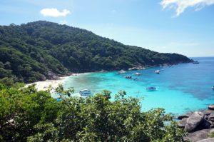 come arrivare Similan Thailandia