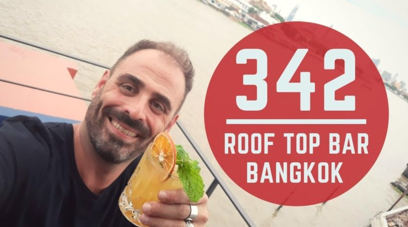 Bangkok, aperitivo al 342 Roof Top Bar