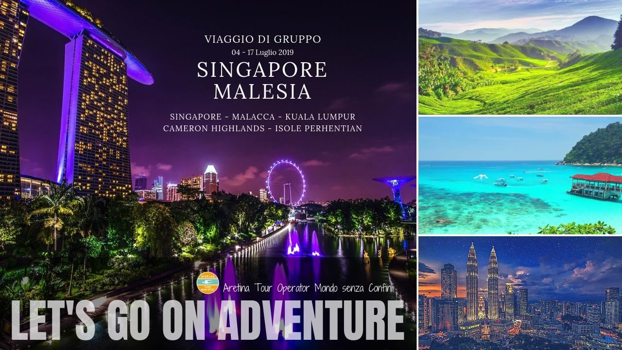 viaggio di gruppo da Singapore alla Malesia
