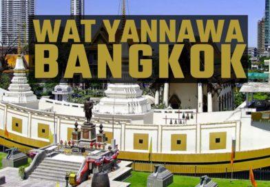 Bangkok, Wat Yannawa, il tempio della barca