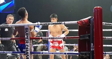 Muay Thai, la boxe thailandese