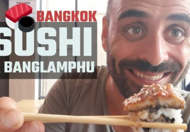Mangiare sushi a Bangkok