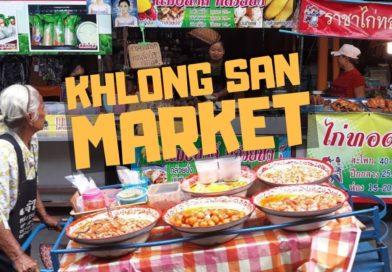 Khlong San Market Bangkok