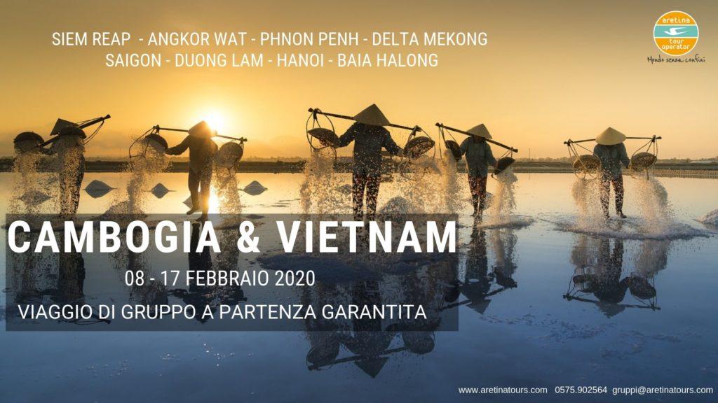 viaggio gruppo combinato Cambogia e Vietnam