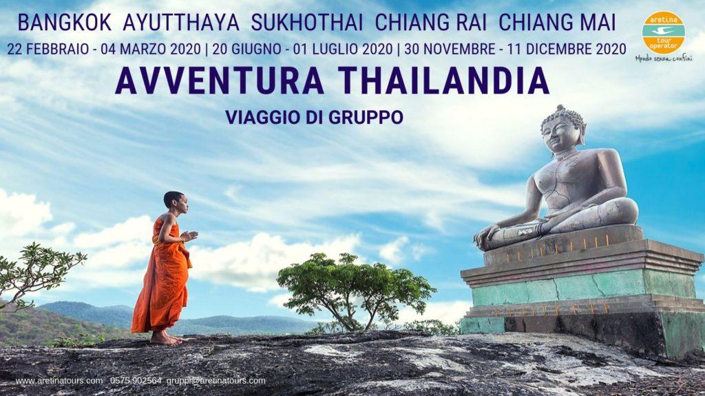 viaggio di gruppo in Thailandia completo