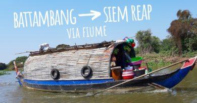 Da Battambang a Siem Reap in barca