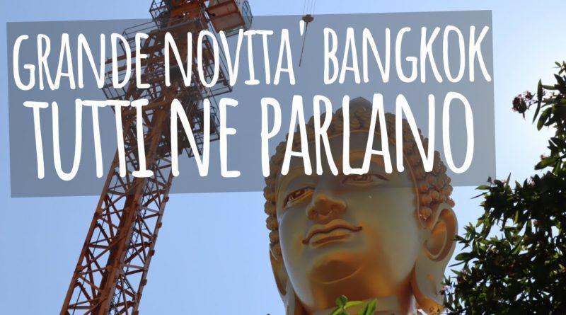 Un Buddha gigantesco a Bangkok