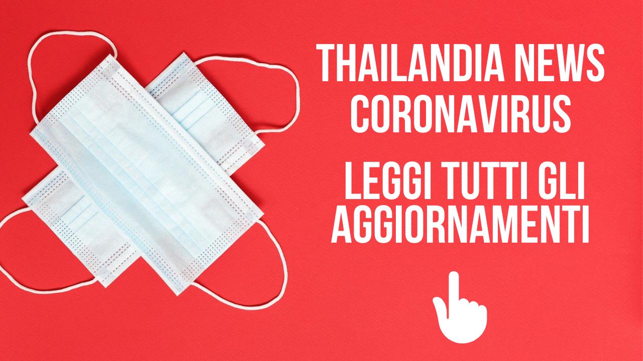 coronavirus thailandia aggiornamenti