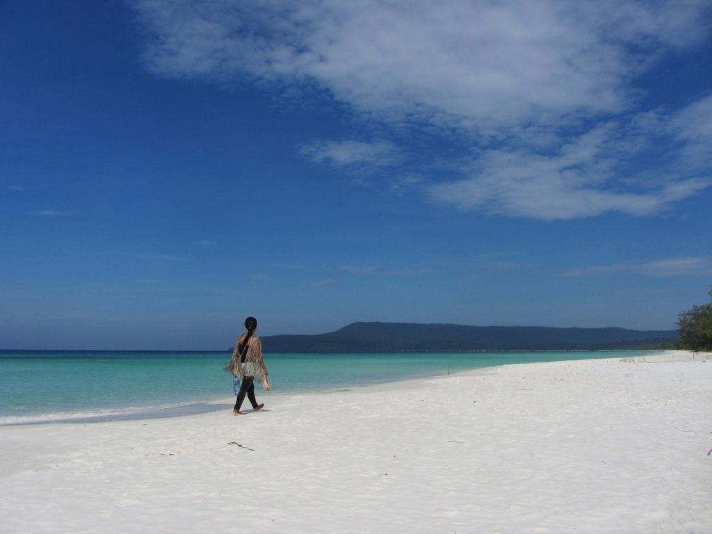 spiagge isola koh Rong Cambogia