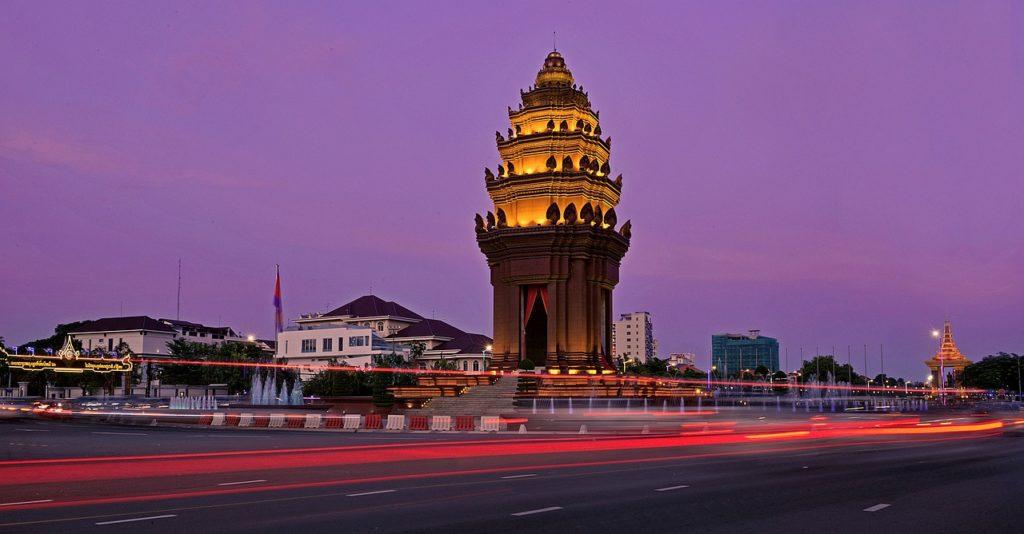 monumento indipendenza Cambogia Phnom Penh