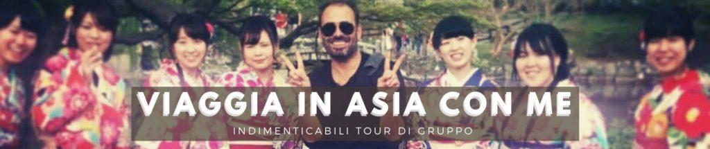tour di gruppo Matteo in Asia