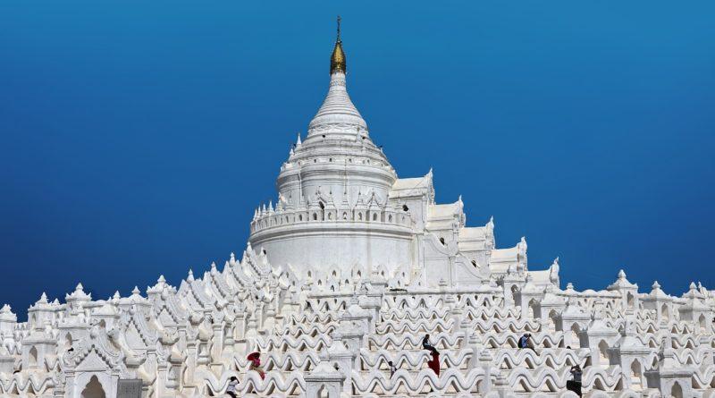 pagoda bianca Mingun Mandalay