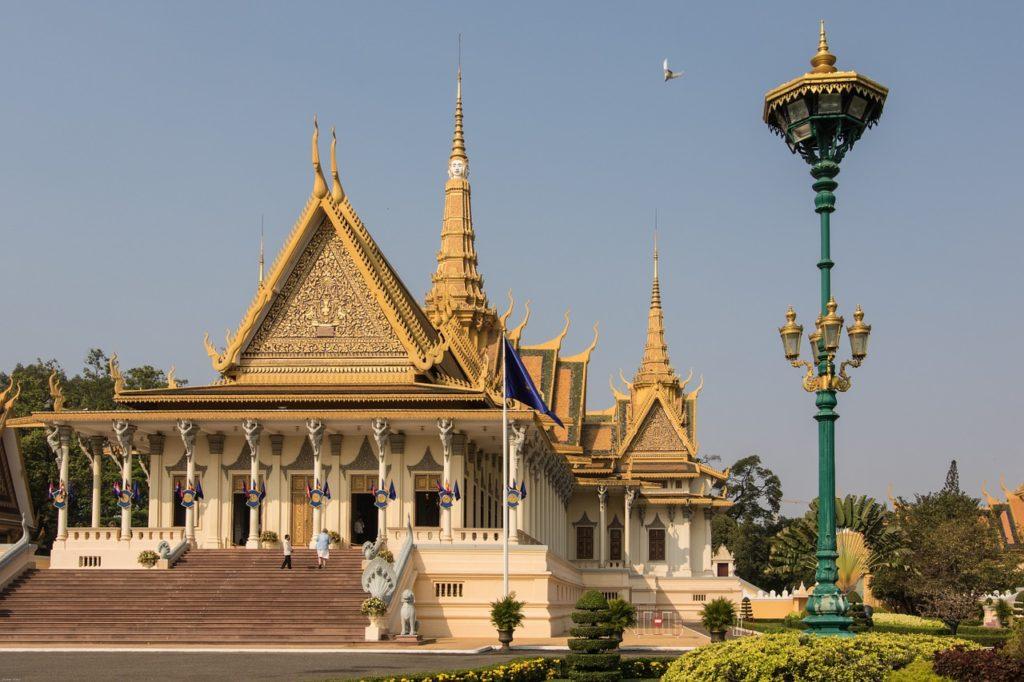 Palazzo Reale Phno Penh Cambogia