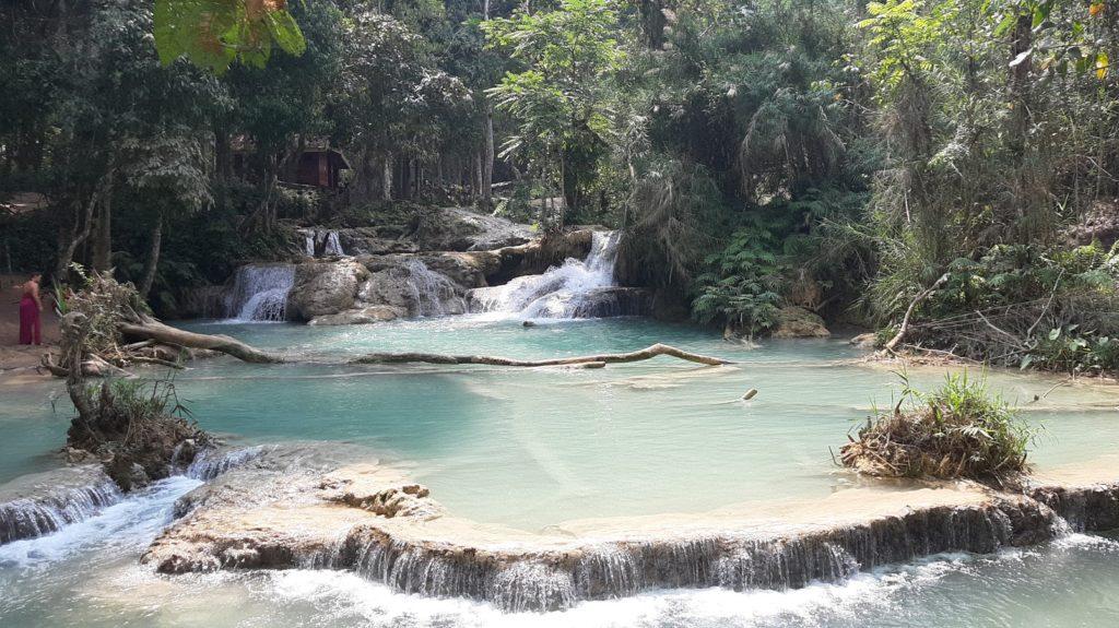 Kuang Si cascate Laos