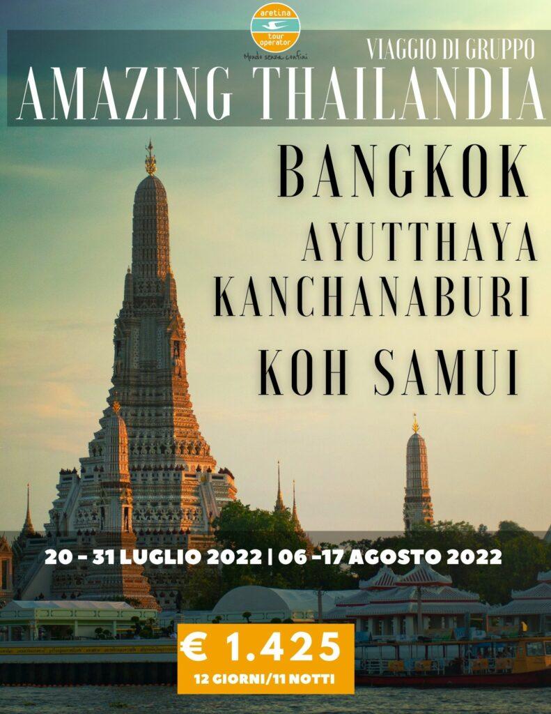 viaggio thailandia gruppo completo